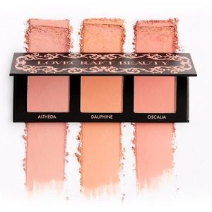 😊Lovecraft Beauty Blush Palette Trio😊